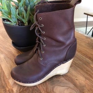 No.6 combat logger wedge boots 37